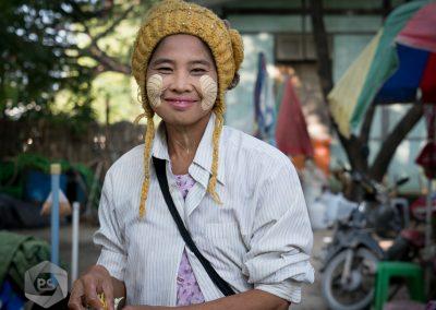 Myanmar Street Seller