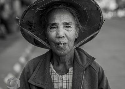 Myanmar Street Face