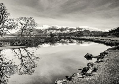 English Lake District in Winter