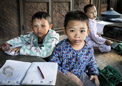 Myanmar Schoolkids