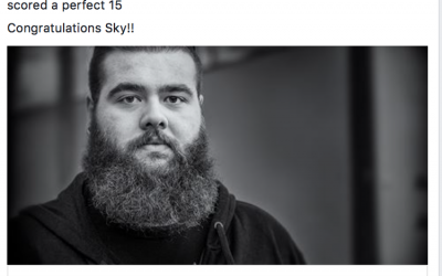 "Sky wins ""Young Photographer of the Year"""